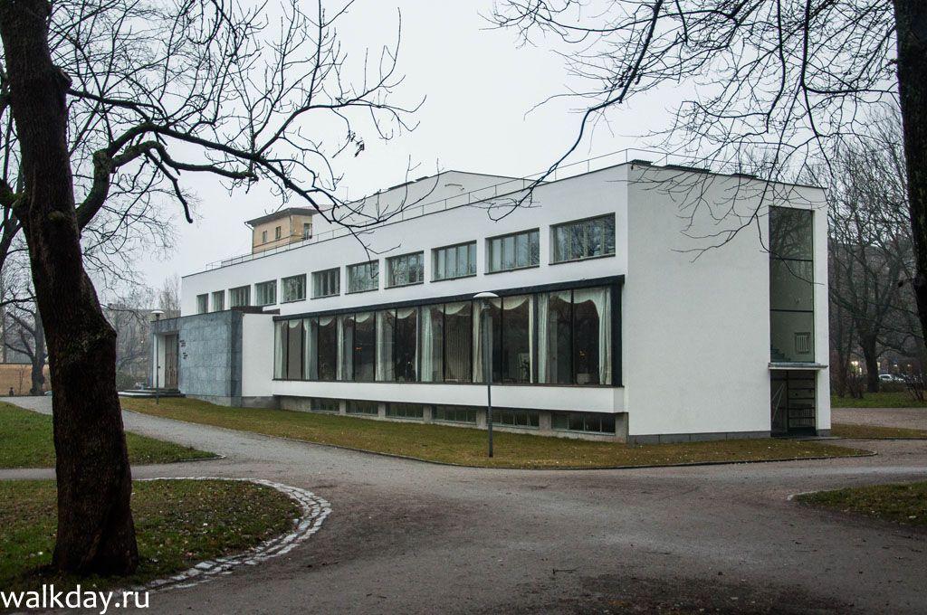 Библиотека Алвара Аалто в Выборге.