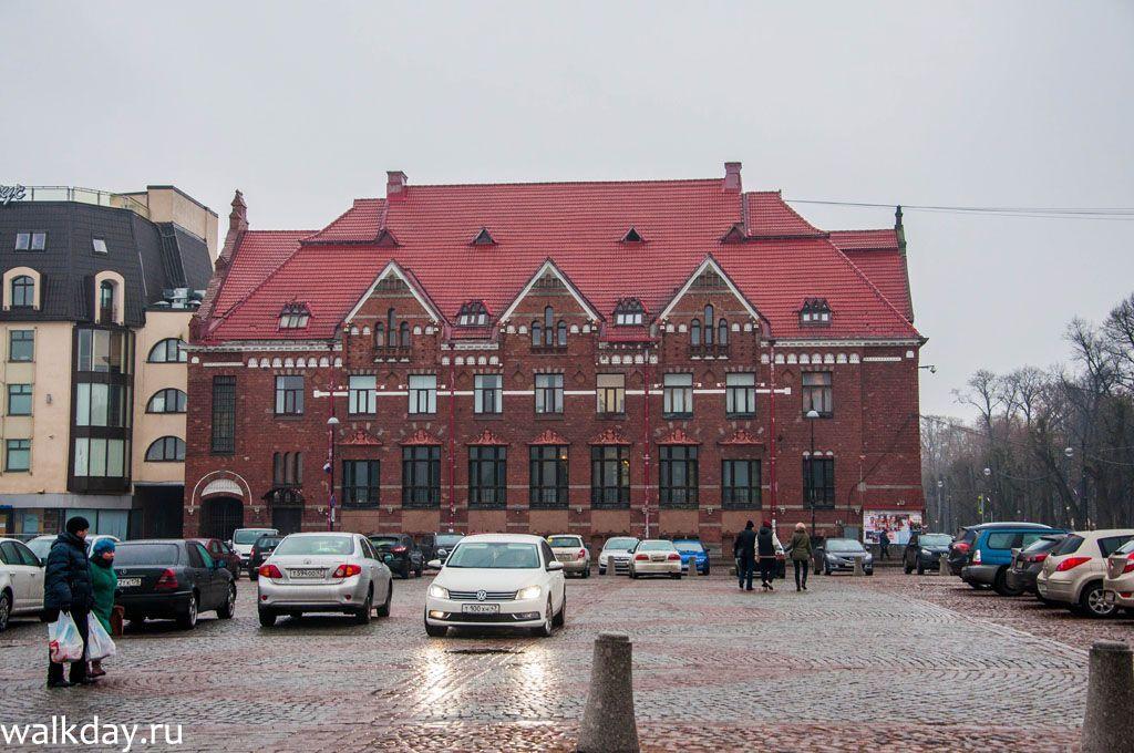 Здание банка в Выборге