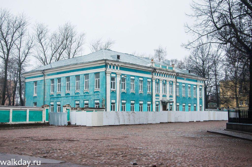 Дворец наместника, Выборгский гофгерихт, Епархиальный центр в Выборге.