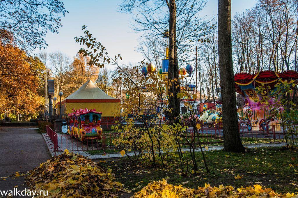 Парк развлечений в Выборге.