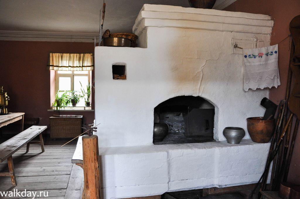правильно печки в сельских домах фото замер удобное