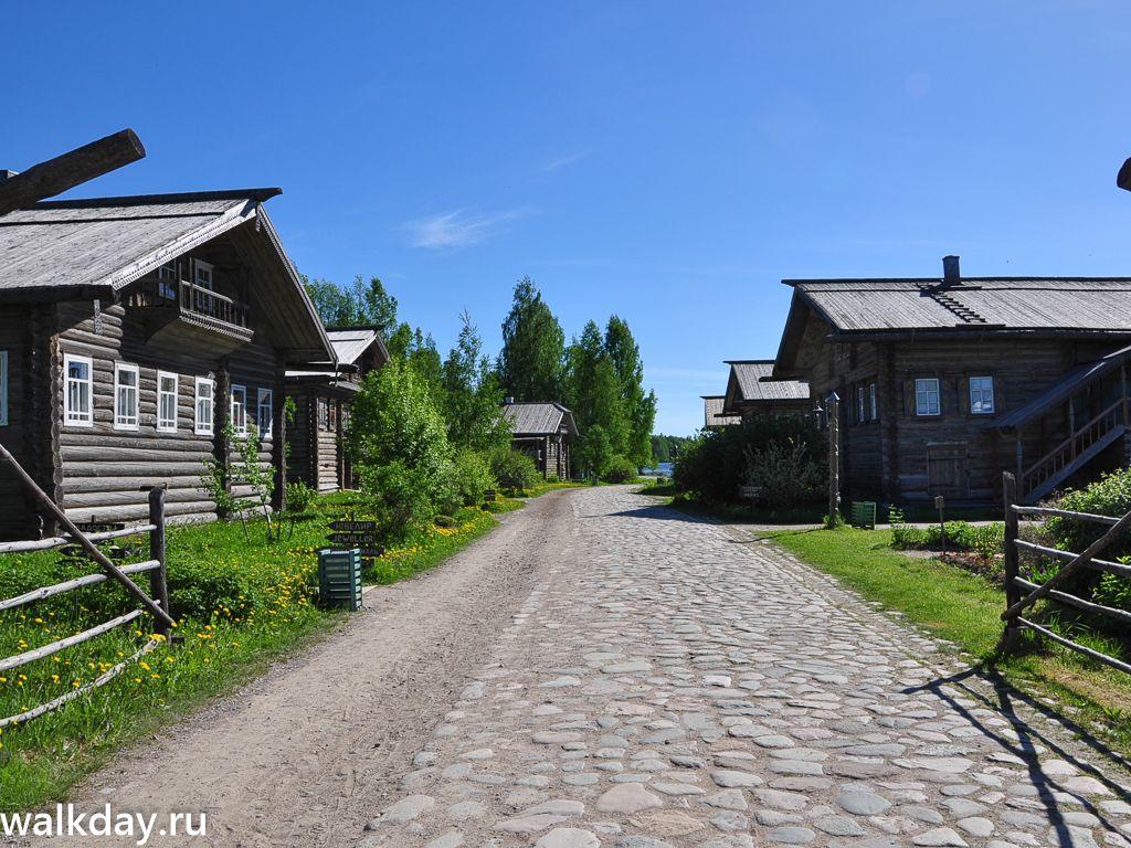 Старая деревня в Верхних Мандрогах